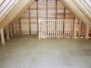 oak framed gararge