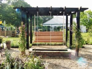 Sow garden at Penshurst place