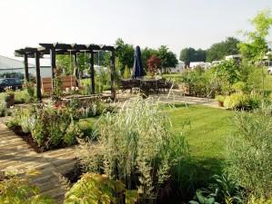 Show garden at Penshurst place