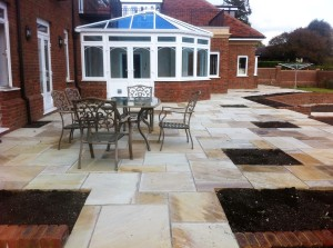 Mint Fossil patio in Maidstone