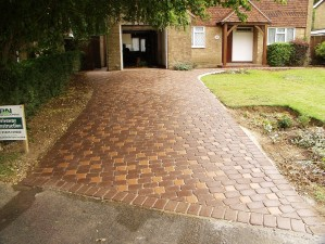 Block paved driveway in Uckfield